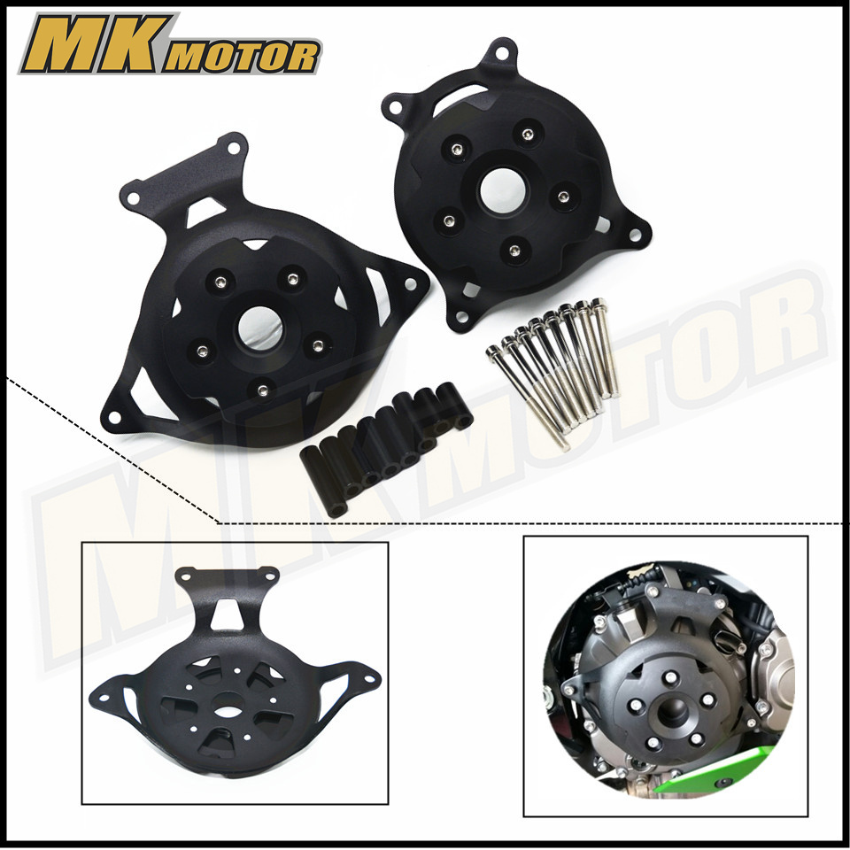 купить CNC Motorbike accessories Motorcycle Engine Stator Cover Engine Protective Cover For kawasaki z800 z 800 2013 -2016 недорого