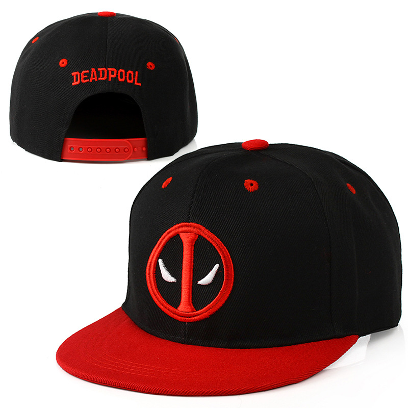 Unisex Outdoor Cartoon Embroidery   Baseball     Cap   2018 Fashion Deadpool   Baseball   Sport Adjustable Summer hat   Baseball     cap