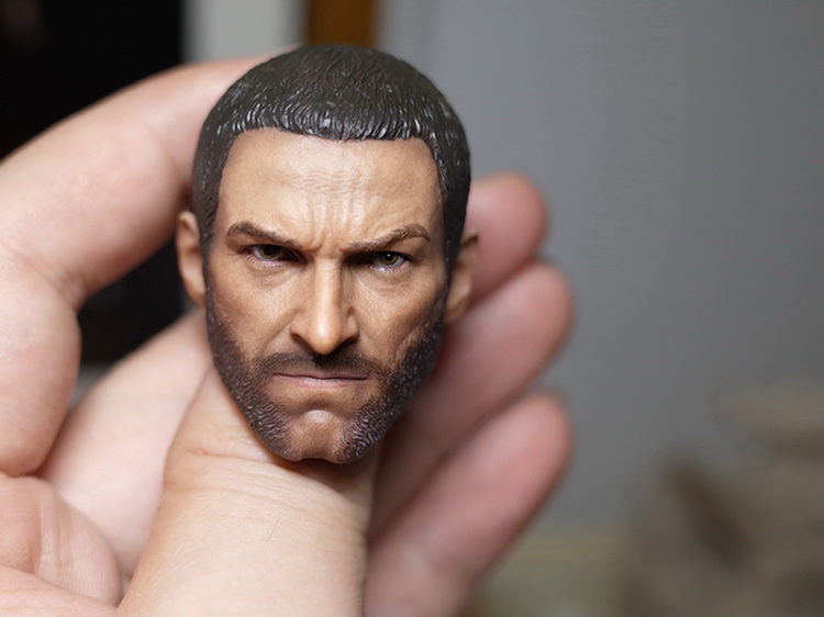 1/6 Scale Wolverine 3 Hugh Logan Head Sculpt Clone   Version with Short Hair for 12 Inches Male Bodies   Dolls Figures Gifts Toy 1 6 scale wolverine 3 hugh logan head sculpt clone version with short hair for 12 inches male bodies dolls figures gifts toy