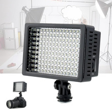 160-LED lights Mini Video Light Photo Lighting on Camera Hot shoe Dimmable LED Lamp for Canon Nikon Camcorder DV DSLR