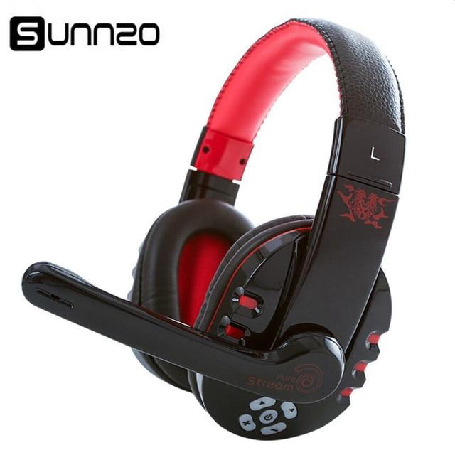 Bluetooth Gaming Headset w Microphone Wireless Headphone Music Earphone for  Phone PUBG 5be3f204e9f3