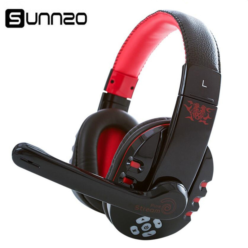 Bluetooth Gaming Headset w Microphone Wireless Headphone Music Earphone for Phone PUBG, PS4, Xbox One, Nintendo Switch, PC etc