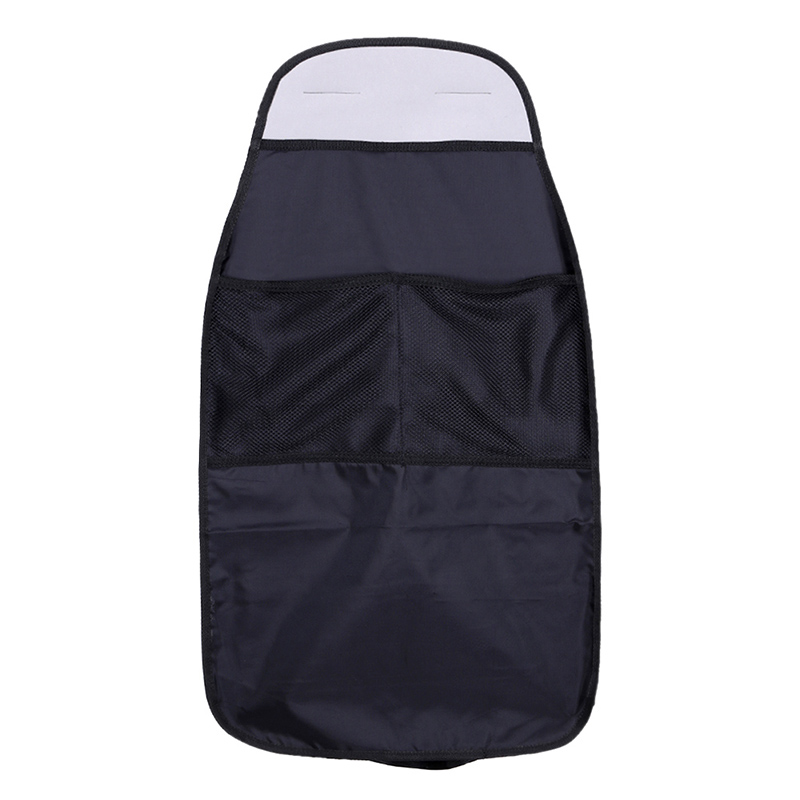 Car Seat Back Storage Organizer Pocket Polyester Fiber Kick Mat Waterproof Auto Back Seat Protectors Voiture Seat Covers