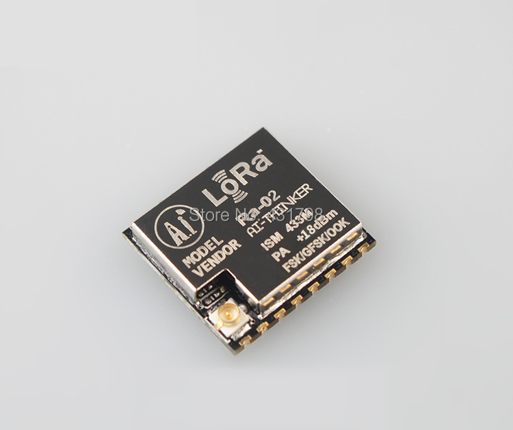 LoRa Series Ra-02 / Spread Spectrum Wireless Module / Ultra-10KM / 433M / RF Chip SX1278 / IOT Artificial Intelligence original pm50rsa060 intelligence module