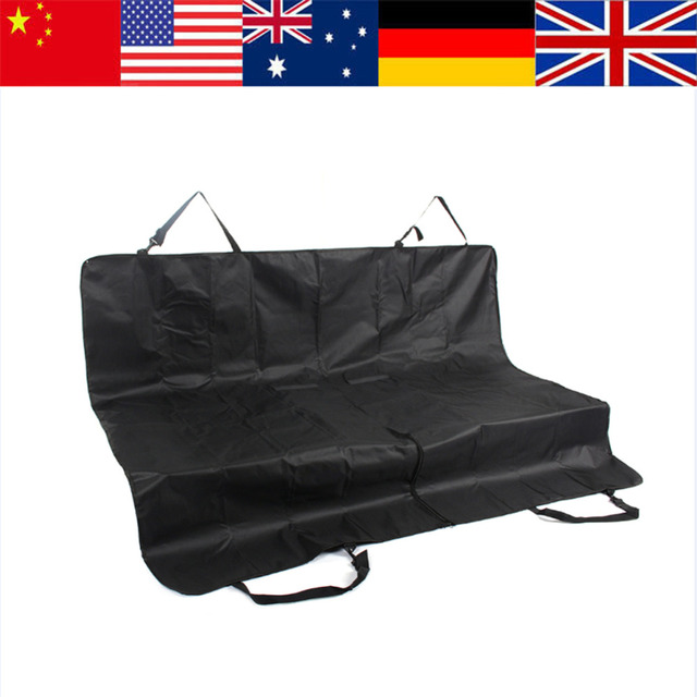 Cozy Dog Cat Bed Mat Pet Car Rear Bench Back Seat Cover Mat Waterproof Hammock Style Black Dog Mat Pet Products Dog Supply