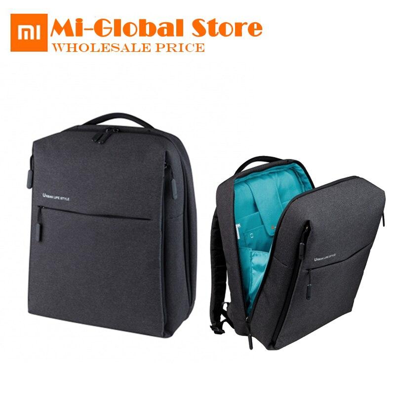 Original Xiaomi femmes hommes sacs à dos bureau école sac à dos grande capacité étudiants sacs d'affaires pour ordinateur portable portable