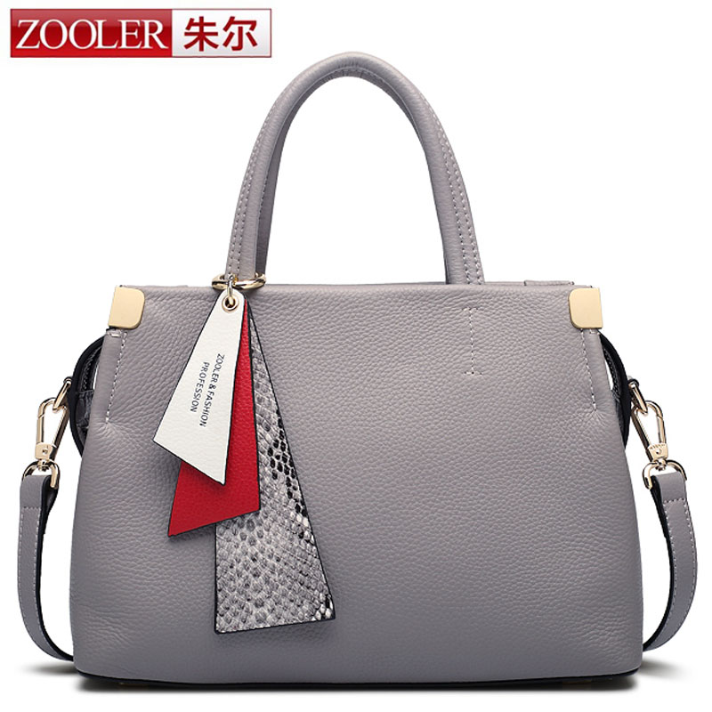 ZOOLER Luxury Women Designer Handbags High Quality Brand Cowhide Genuine Leather Handbags Women Messenger Bags bolsa feminina chispaulo women bags brand 2017 designer handbags high quality cowhide women s genuine leather handbags women messenger bag t235