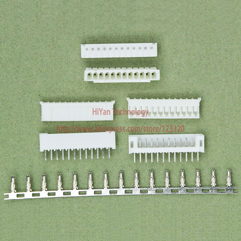 (50sets/lot) PH2.0 12P 12Pin 180degrees PH Connector Pitch:2.0MM 12A 180 degree Pin Header + Terminal + Housing PH2.0-12P