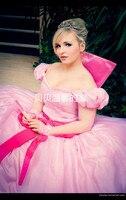 الأميرة والضفدع lottie شارلوت اللباس تأثيري حلي الوردي للنساء