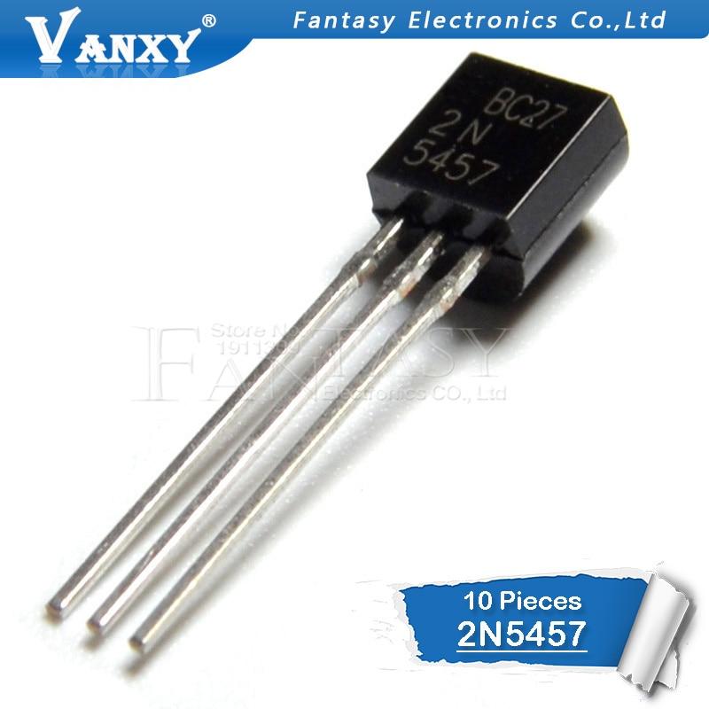 10PCS 2N5457 TO-92 5457 TO92 Transistor