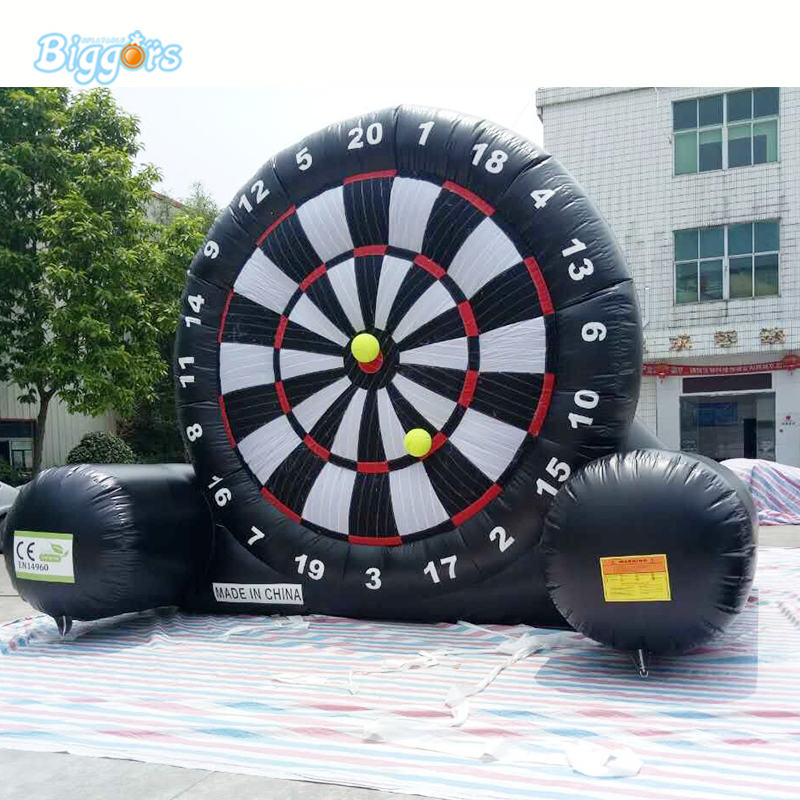 high quality dart score board inflatable soccer kick foot darts board for sale customized 3x1x2 5 meters inflatable dart game high quality inflatable dart board for adult and kids toys