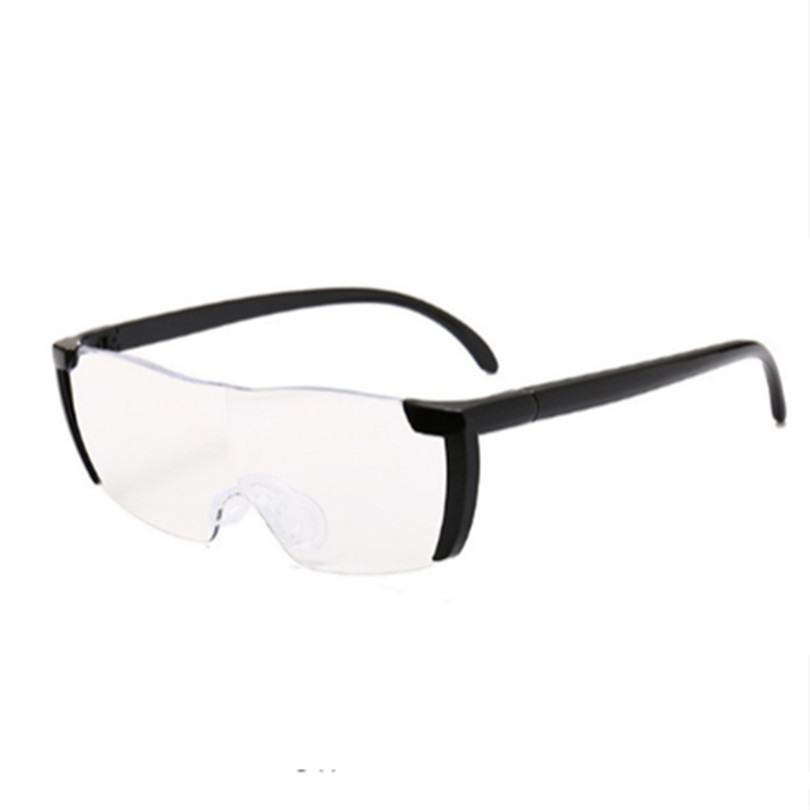 Glasses Magnifier 1.6 times Magnifying Glass Reading Glasses Big Vision 250% Magnification Presbyopic Glasses Reading Eyewear