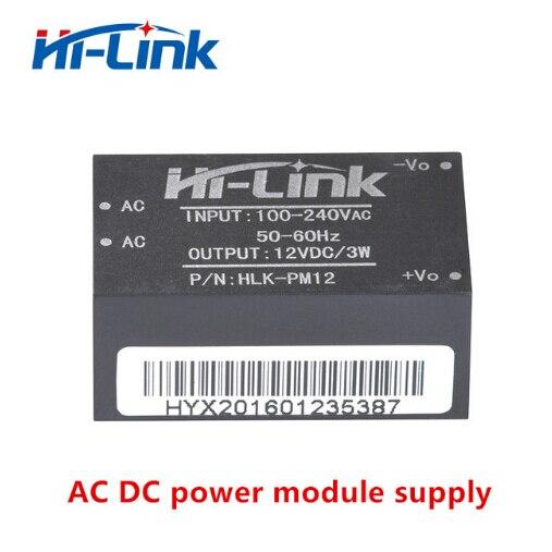 Envío libre 15 unids/lote AC-DC 220 V a 12 V inteligente hogar interruptor mini fuente de alimentación aislada casa inteligente