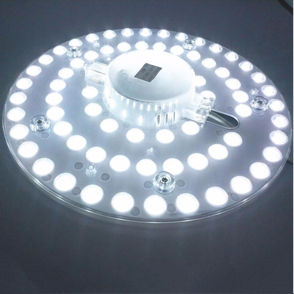 12 W 18 W 24 W 36 W LED Panel Downlight 5730SMD yüzeye monte LED luminares Sıcak Beyaz Doğa Beyaz saf Beyaz Lamba AC165-265V
