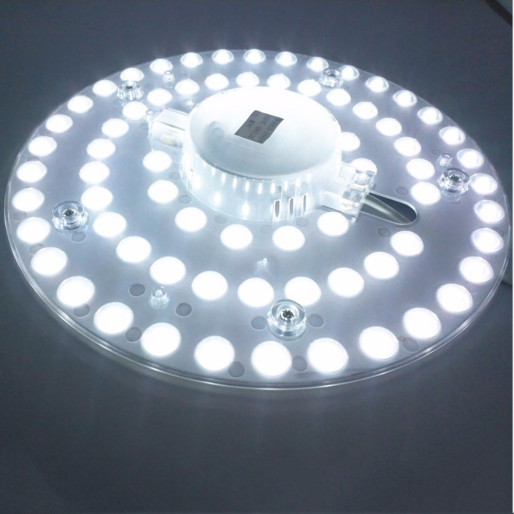 12W 18W 24W 36W LED Panel Downlight  5730SMD Surface Mounted LED Luminares Warm White Nature White Pure White Lamp AC165-265V