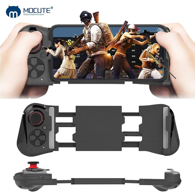Mocute 050 aggiornamento 058 Senza Fili Bluetooth Gamepad Controller di Gioco Telescopica Joystick VR Controllo A Distanza per il Telefono Android