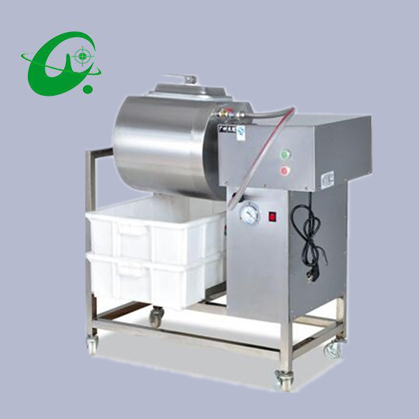40L Stainless steel Vacuum bloating marinated machine YA-908 Commercial economical meat salting machine 35l meat salting marinated machine chinese salter machine hamburger shop fast pickling machine with timer