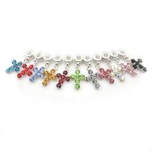 Модные хрустальные кресты Ожерелье Подвеска в европейском стиле