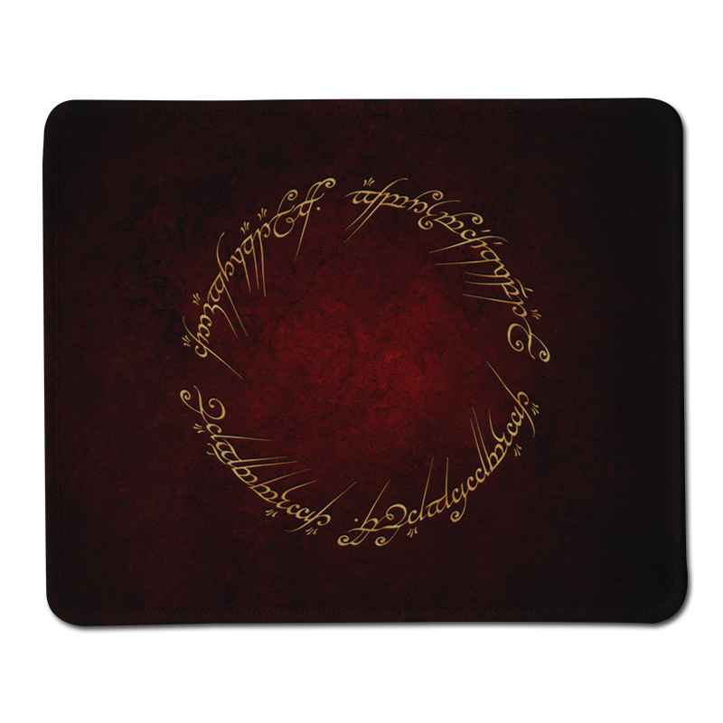 100 New Orignal Stitched Edge Mousepad The Lord of the Rings Style Non Slip Rubber Gaming