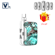 Vape kit Fusion SP Electronic Cigarette 1500mah box mod All-In-One 2.0ml refillable atomizer vaporizer 50W coil head 0.25ohm