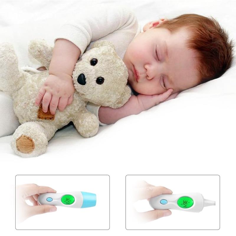 8 em 1 digital orelha termômetro adulto bebê infravermelho lcd temperatura médica t2