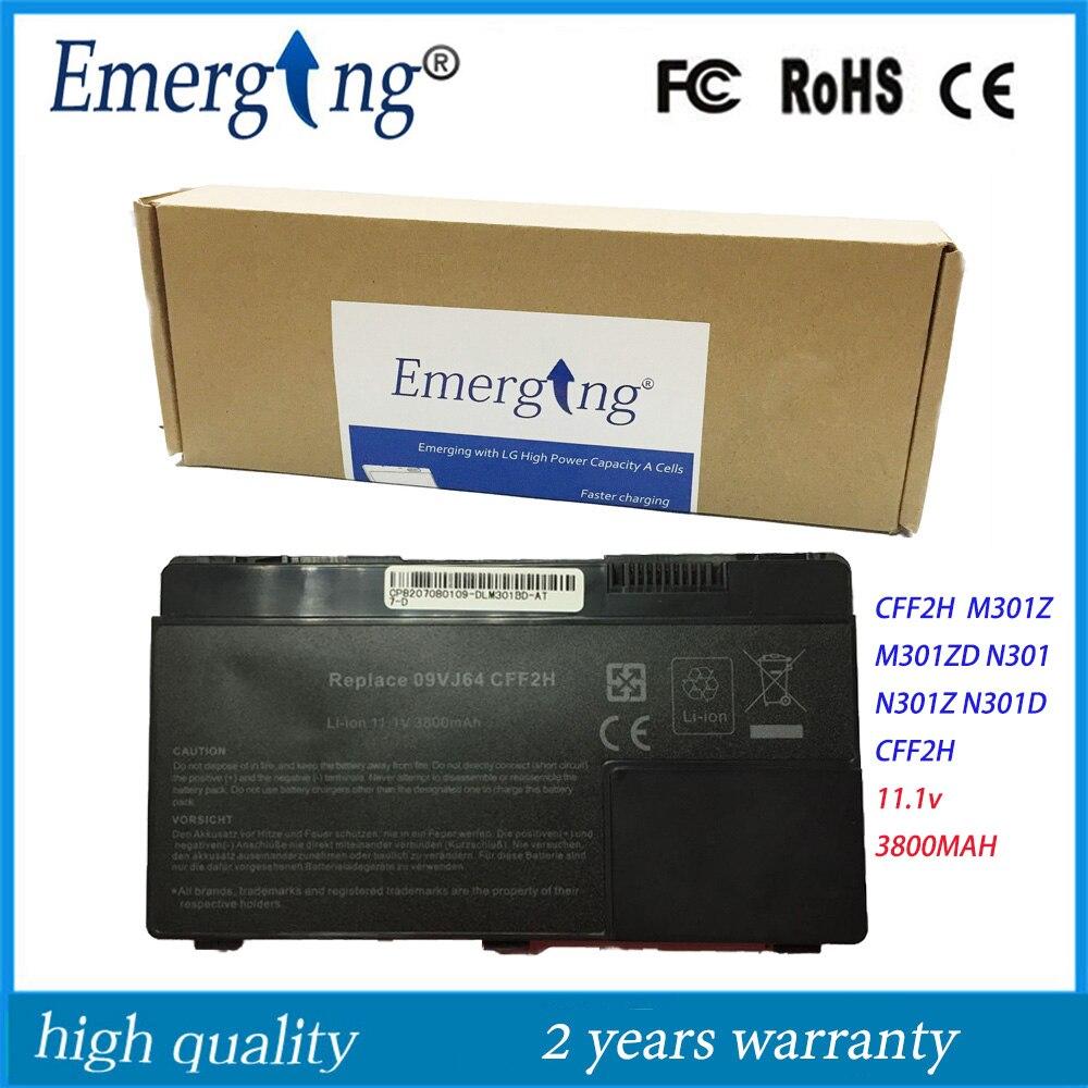 bilder für 11,1 v neue laptop-batterie für dell inspiron 13z m301 m301z m301zd n301 n301z n301d cff2h