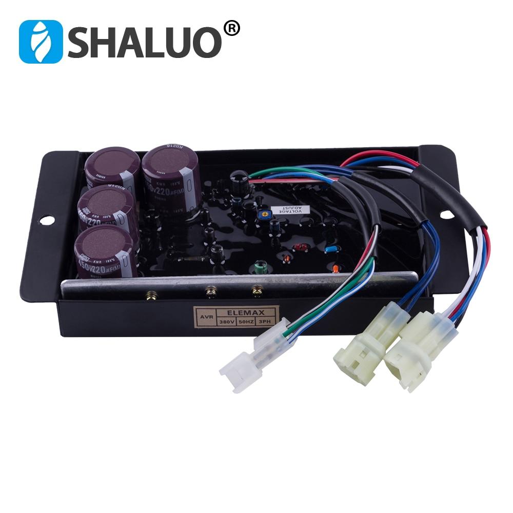 3 phase SHT11500 SHT16000 original japan gasoline generator avr component parts automatic voltage regulator stabilizer 8
