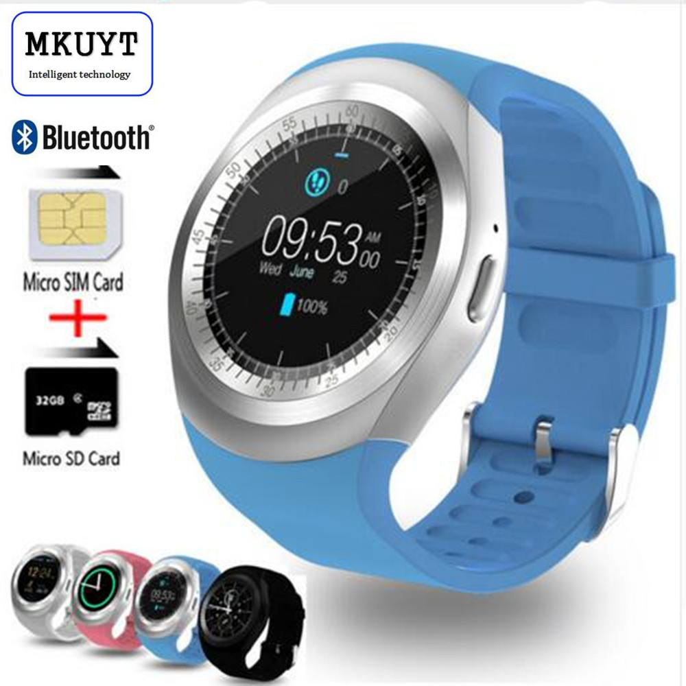 MKUYT Y1 Smart Watch 1 54 Touch Screen Fitness Activity Tracker Sleep Monitor Pedometer Calories Track