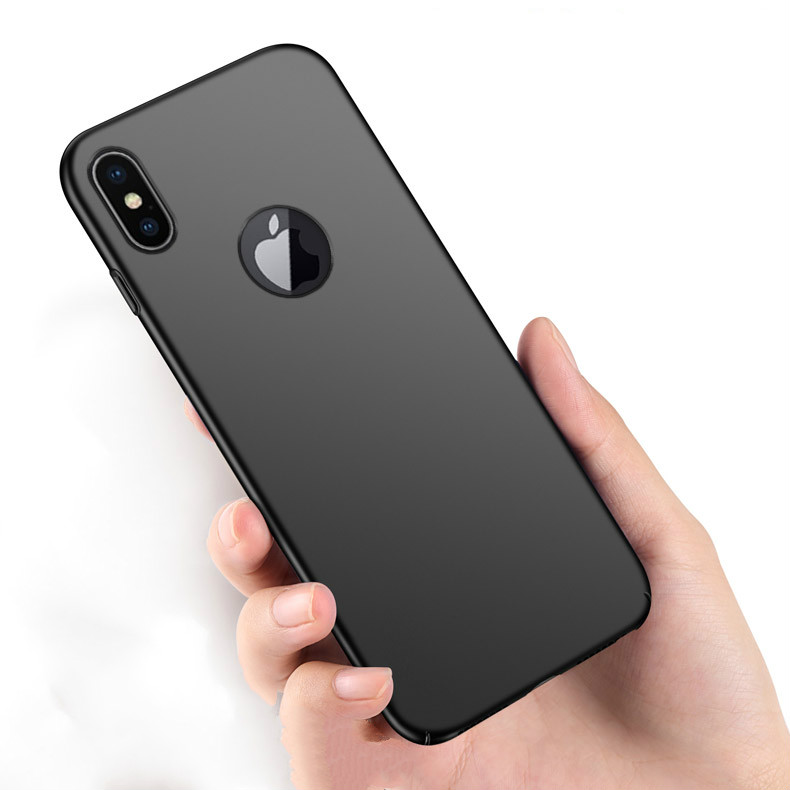 For XR XS Capa Hard PC Frosted Phone Case For Apple iPhone