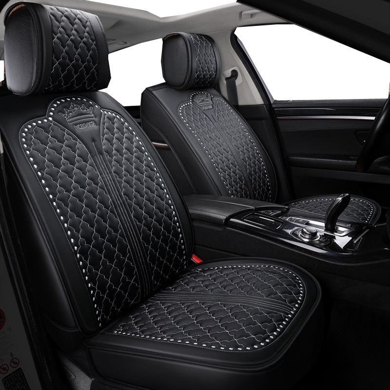 Luxury Leather Universal Car Seat Covers For Citroen All