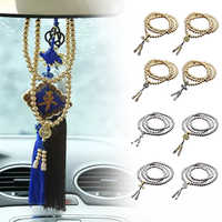¡Novedad de 108! collar de cadena de acero con cuentas de Buda, cadena de pulsera de mano de defensa Personal EDC, multiherramientas de protección Personal
