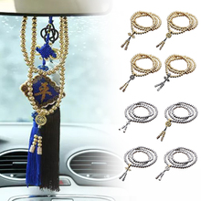 New 108 Buddha Beads Full Steel Necklace Chain Outdoor Self Defense Hand Bracelet Chain EDC Personal Protection Multi Tools