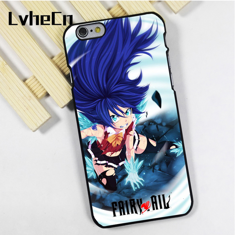 LvheCn phone case cover fit for iPhone 4 4s 5 5s 5c SE 6 6s 7 8 plus X ipod touch 4 5 6 Fairy Tail Wendy Dragon Force