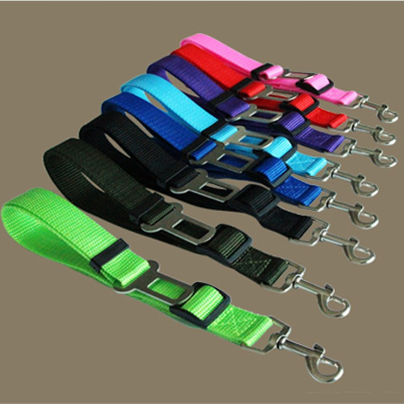 Pet Dog Car Safety Seat Belt Adjustable Dog Puppy Cat Safety in Car