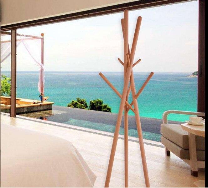 aliexpress.com : acquista design moderno in legno massello ... - Appendiabiti Da Camera Da Letto