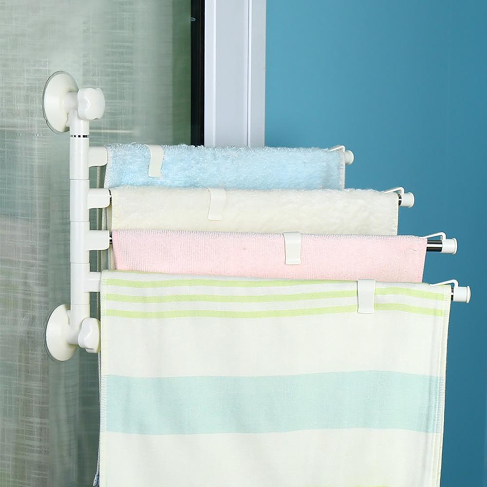 BYN Wall Mounted Stainless Steel Towel Bar Bathroom Towel Rack ...