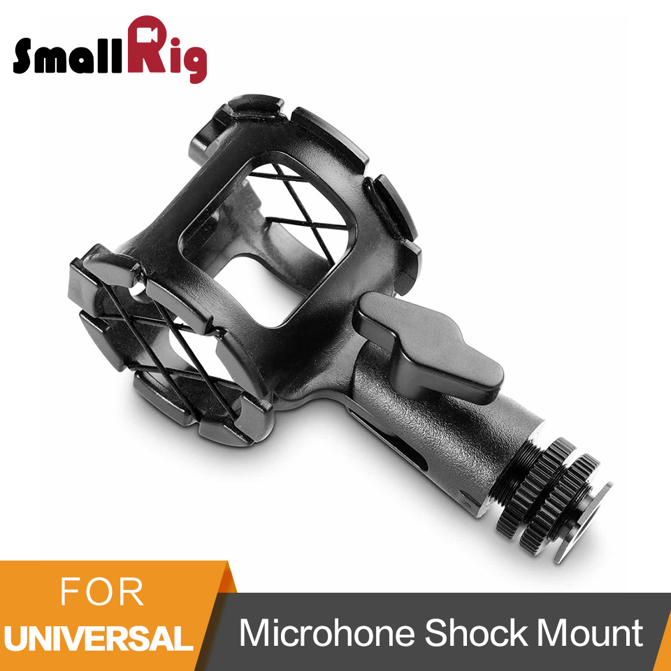 SmallRig Universal Microhone Shock Mount Adapter With Cold Shoe Microphones Support Mount - 1859SmallRig Universal Microhone Shock Mount Adapter With Cold Shoe Microphones Support Mount - 1859