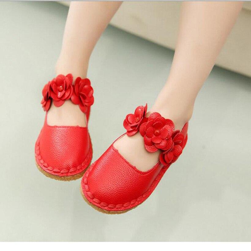 2016 Fashion Girls Sandalias Pu Cuero Sapato Infantil Menina Verano Chaussures Enfants Pour Les Filles Diseñador Chica Sandalia zapato