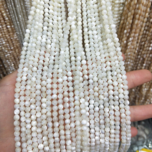 High Qulity White Shell Beads Jewelry Making 2/4/6/8/10mm Round Loose For DIY Necklace & Bracelet