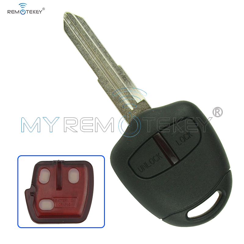 Remote car key for Mitsubishi outlander ASX 2006 - 2015 2 button MIT11R profile 433mhz with ID46 chip remtekey