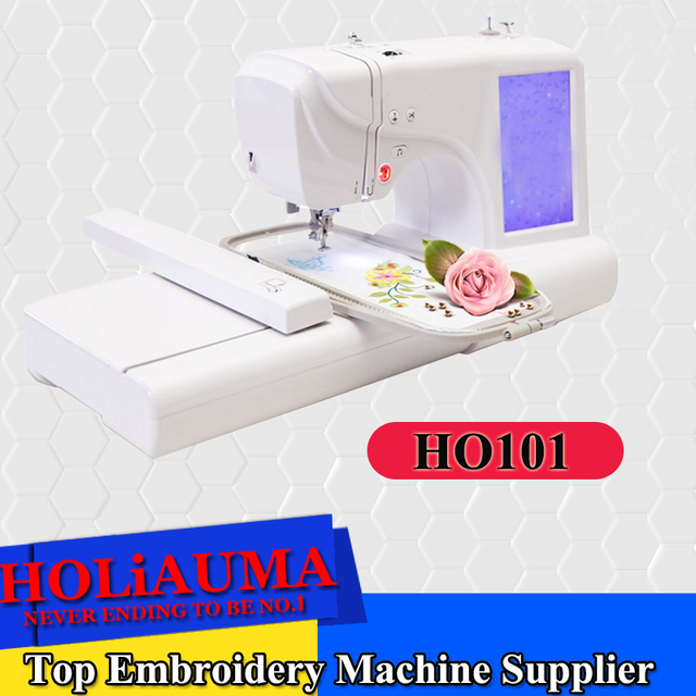 HOLiAUMA Automatic Home Use Computer Embroidery Machine Computerized Stunning Home Sewing Machine Price