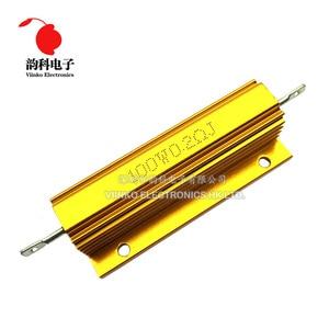 100W Aluminum Power Metal Shell Case Wirewound Resistor 0.01 ~ 100K 0.05 0.1 0.5 1 2 4 6 8 10 20 100 150 200 300 500 1K 10K ohm(China)