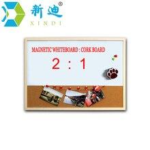 Фломастеров пробковая магнитно-маркерная xindi комбинация бесплатным доски деревянная рамка бесплатная доска