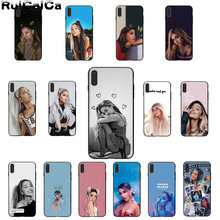 RuiCaiCa Ariana Grande AG Rainbow สารให้ความหวาน Luxury High - end Protector กรณีสำหรับ iphone ของ Apple iphone 8 7 6 6 S plus X XS MAX 5 5 S SE XR(China)