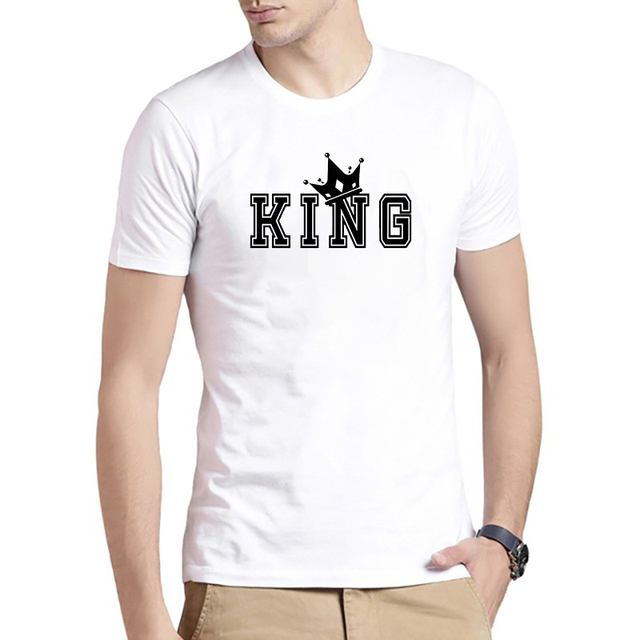 T Shirt Couples Lovers King...