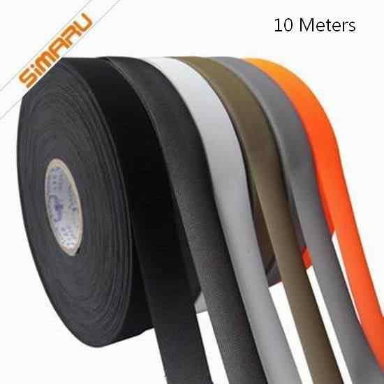 10メートル* 20ミリメートル* 0.15ミリメートルlycar tpuホットメルト熱溶接シームシール黒防水テープゴアテックス素材屋外服またはテント