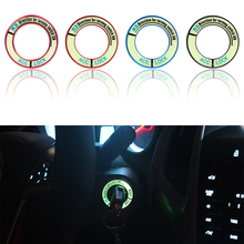 Luminous Alloy – Car Ignition Switch Key Cover Stickers