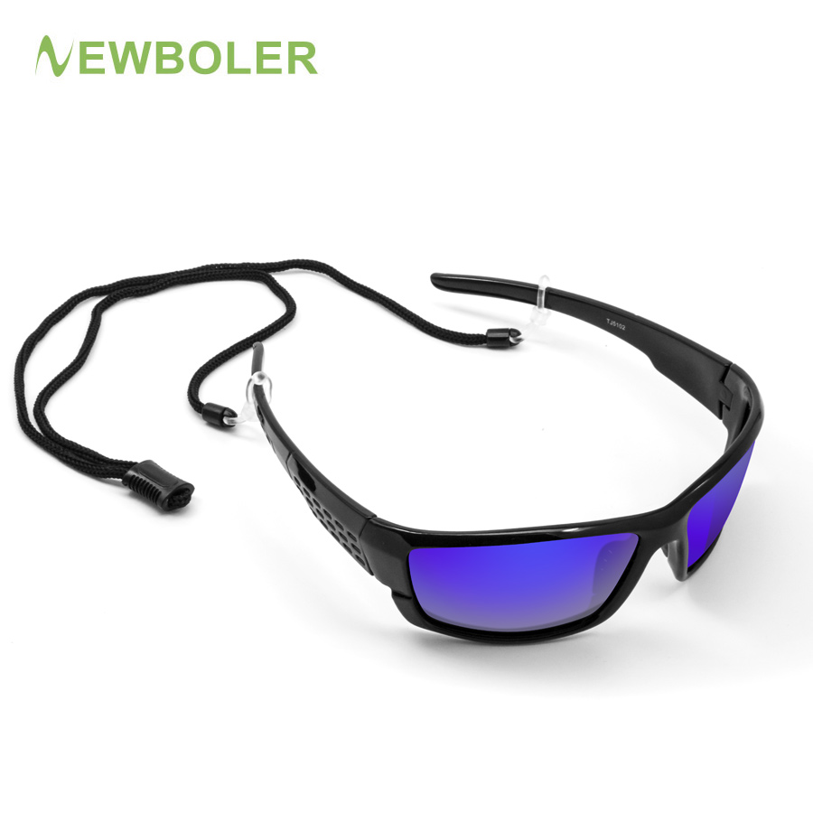 NEWBOLER Sunglasses Men Polarized Sport Fishing Sun Glasses For Men Gafas De Sol Hombre Driving Cycling Glasses Fishing Eyewear dubery 2018 sunglasses men polarized famous brand design driving sun glasses male uv400 tac mirror gafas de sol hombre d8073