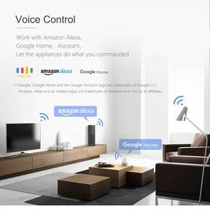 Image 5 - Konke Wifi Ổ Cắm Ổ Cắm Thông Minh WiFi Ổ Cắm EU Màn Hình Chức Năng Thời Gian Ứng Dụng Điều Khiển Hoạt Động Với Alexa Google Trợ Lý