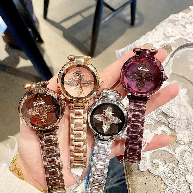 2019 Best Sell Mulheres Relógios Das Mulheres De Luxo Ouro Rosa Pulseira Relógios Moda feminina Dress Watch Ladies Relógio de Pulso de Quartzo relógio